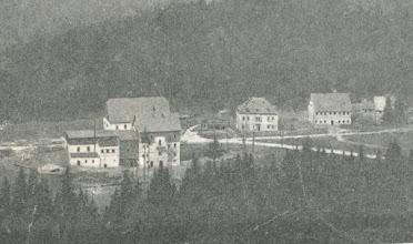 """Photo: Wünschendorf im Erzgebirge  Sachsen  Neunzehnhain noch ohne Gaststätte  """"Hammermühle""""  --   Postkarte um 1902"""