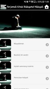 Download Bidayatul Hidayah Terjemahan For PC Windows and Mac apk screenshot 3