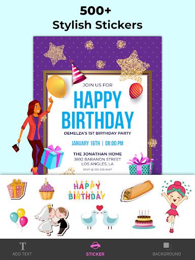Invitation Maker Free, Paperless Card Creator android2mod screenshots 10