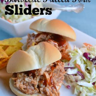 Pulled Pork Sliders - Slow Cooker
