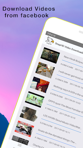 SnapHD:Video Downloader - For Facebook,Vimeo App (apk ...
