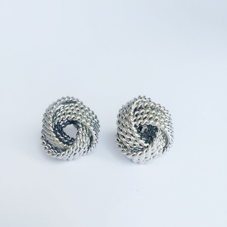 E036 - S. Love Knot in Vogue Earrings by House of LaBelleD.