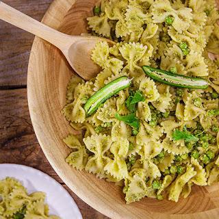 Jalapeno Pesto Pasta Salad.