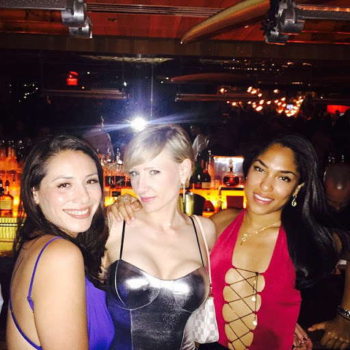 South Beach offers a dizzying array of nightlife action: Jessica, Anna and Melissa Ann at Bar Centro in SLS Hotel South Beach.