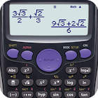 Fx Calculator 350es 84+ calculator sin cos tan icon