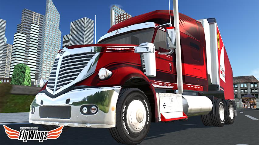 android Truck Simulator 2016 Free Game Screenshot 0