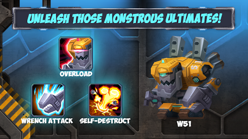 Tactical Monsters Rumble Arena -Tactics & Strategy  screenshots 11