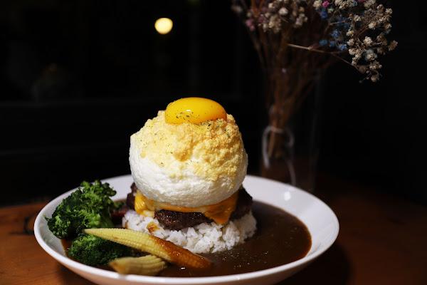 E G G Y。什麼是蛋澳式早午餐,民生社區美食,近南京三民站,松山區早午餐,IG打卡,大推白雲爆蛋漢堡肉咖哩