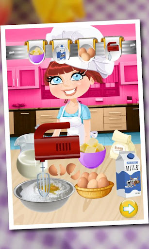 Ice Cream Cake maker cooking
