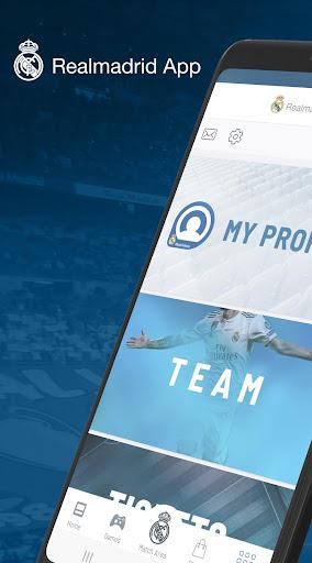 Real Madrid App screenshot