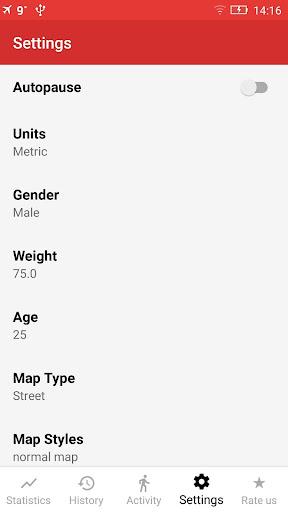 Walking GPS fitness tracker 2.0 screenshots 6