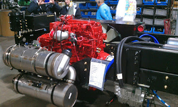 Photo: Engine and Transmission Installed