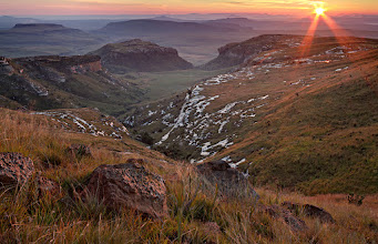 """Photo: """"Maluti Dawn"""" - Golden Gate Highlands National Park, South Africa  An addition for #mountainmonday by +Michael Russell... Have a great week everyone!  #landscapephotography  #sunrisephotos"""