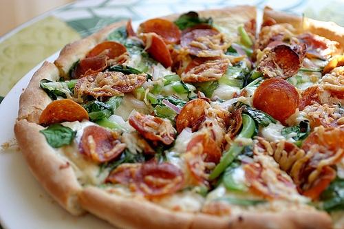 Pizza .! ♥