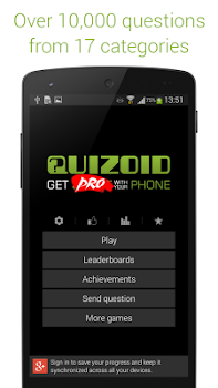 Quizoid Pro: Category Trivia with 5 Game modes