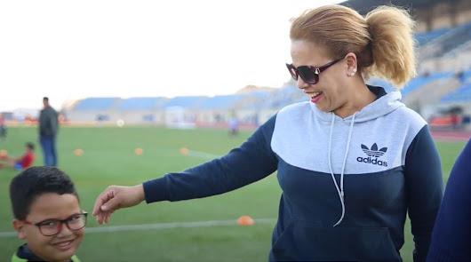Entrevista madre NIZAR (jugador Potitos MAAVi Fútbol Club)