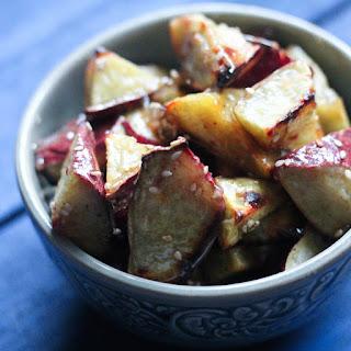Paleo Korean Caramelized Sweet Potatoes (Goguma Mattang).