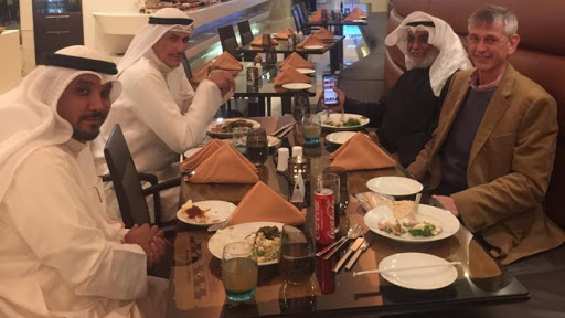 Dr Khalil du Plessis (Director Professional Services at AWCape) during a recent visit to Kuwait with Mr Shaher Al Soberie and colleagues.