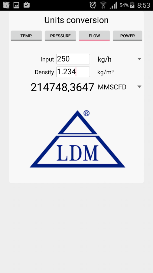 LDM Valves- screenshot