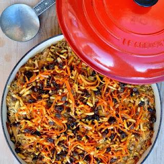 Afghan Chicken & Rice Casserole (Kabeli Palau)