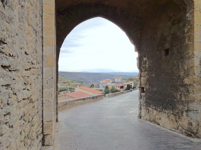 Photo: Southern gateway entrance to Morella old town