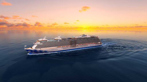 Enchanted Princess features Princess Cruises staples such as the multistory Piazza atrium, adults-only Sanctuary and Movies Under the Stars.