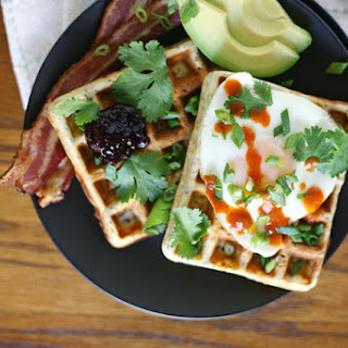 Quinoa Savory Waffles Recipe