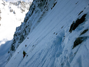 Photo: Open slope after top section