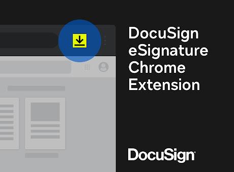 DocuSign eSignature for Chrome
