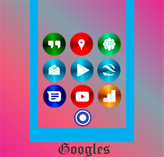 Color Metal 2 - Icon Pack Screenshot