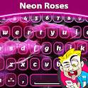 A.I. Type Neon Roses א icon