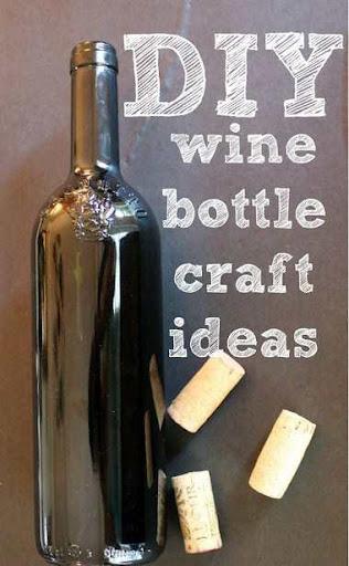 DIY Crafts Wine Bottles