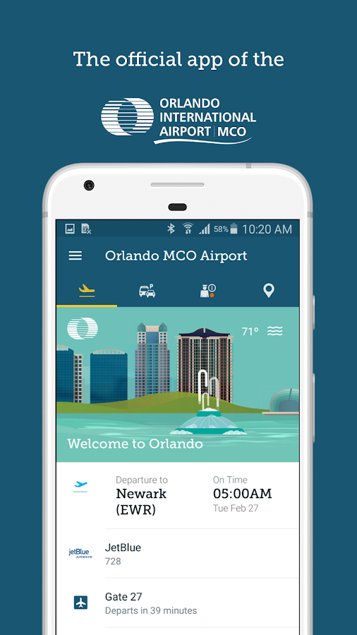 Orlando MCO Airport- screenshot