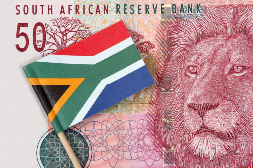 Rand SA flag. Picture: THINKSTOCK