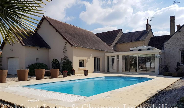 Maison avec piscine et terrasse Vineuil