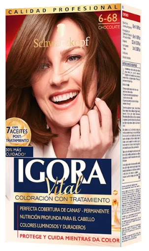 tinte igora vital kit 6.68 chocolate