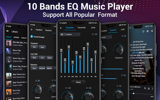 Music Player - Audio Player & 10 Bands Equalizer 1.2.9 screenshots 1