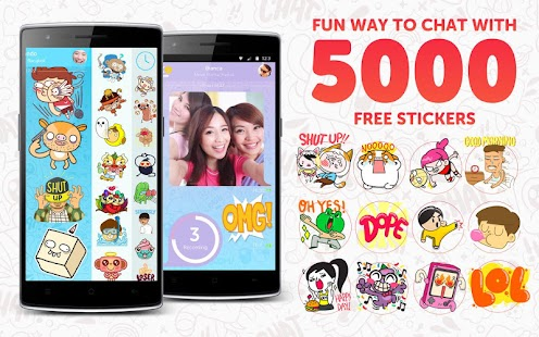 CHOPCHAT Free Chat & Stickers- screenshot thumbnail