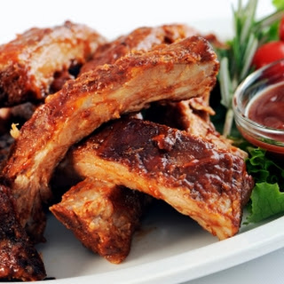 Piquant Pork Spare Ribs In Soy Sauce