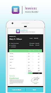 Invoice Maker Pro Invoice Generator App Apps On Google Play - Invoice builder