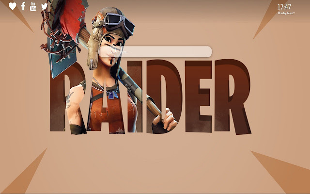 Renegade Raider Theme for Google Chrome