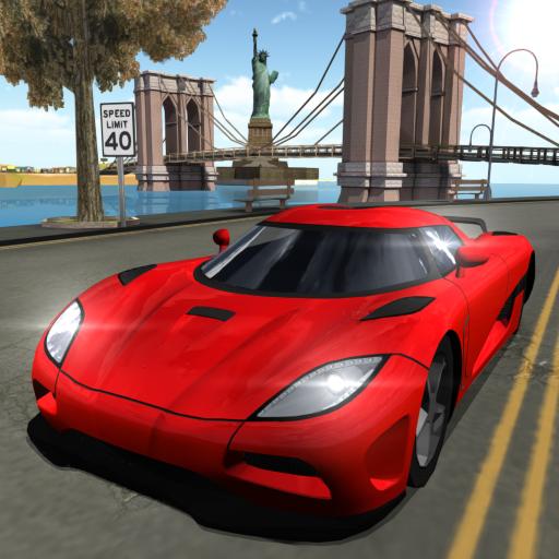 Car Driving Simulator: NY Icon