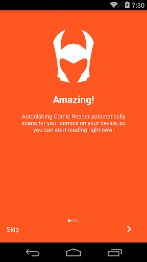Astonishing Comic Reader 3.32 Screenshots 1