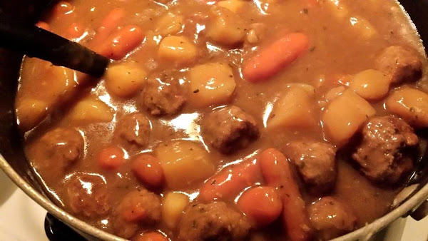 Meat Ball Stew Recipe
