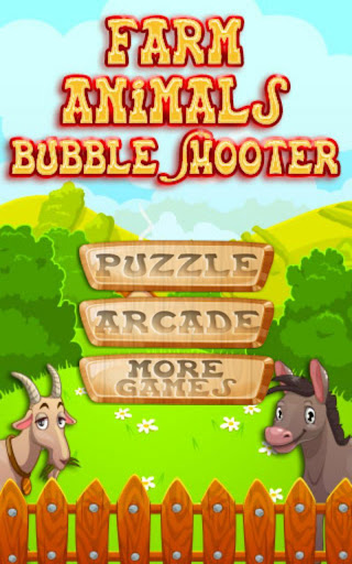 Farm Animals Bubble Shooter