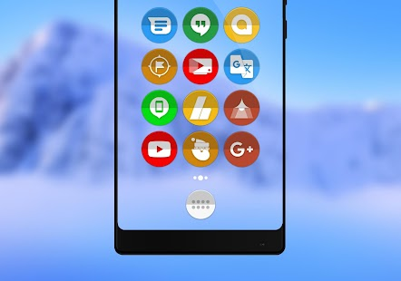 Oreo Stil - Icon Pack Thema Screenshot