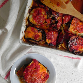 Eggplant and Butternut Squash Bake