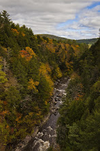 Photo: Queechee Gorge, Queechee, Vermont, looking south