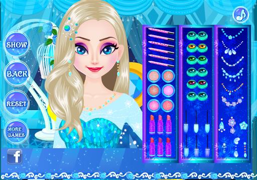 Makeup for Elsa