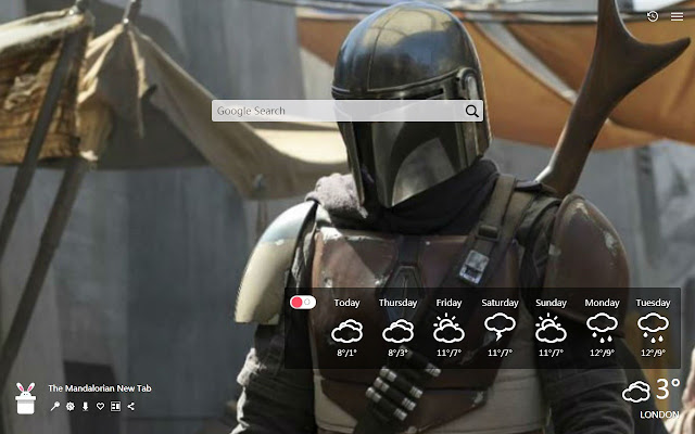 The Mandalorian New Tab, Wallpapers HD